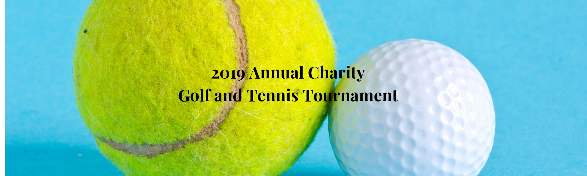2019 Charity Golf and Tennis Tournament